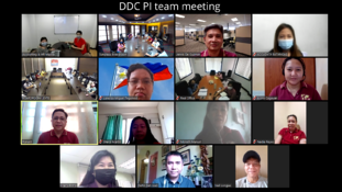 DDC Philippines team meeting
