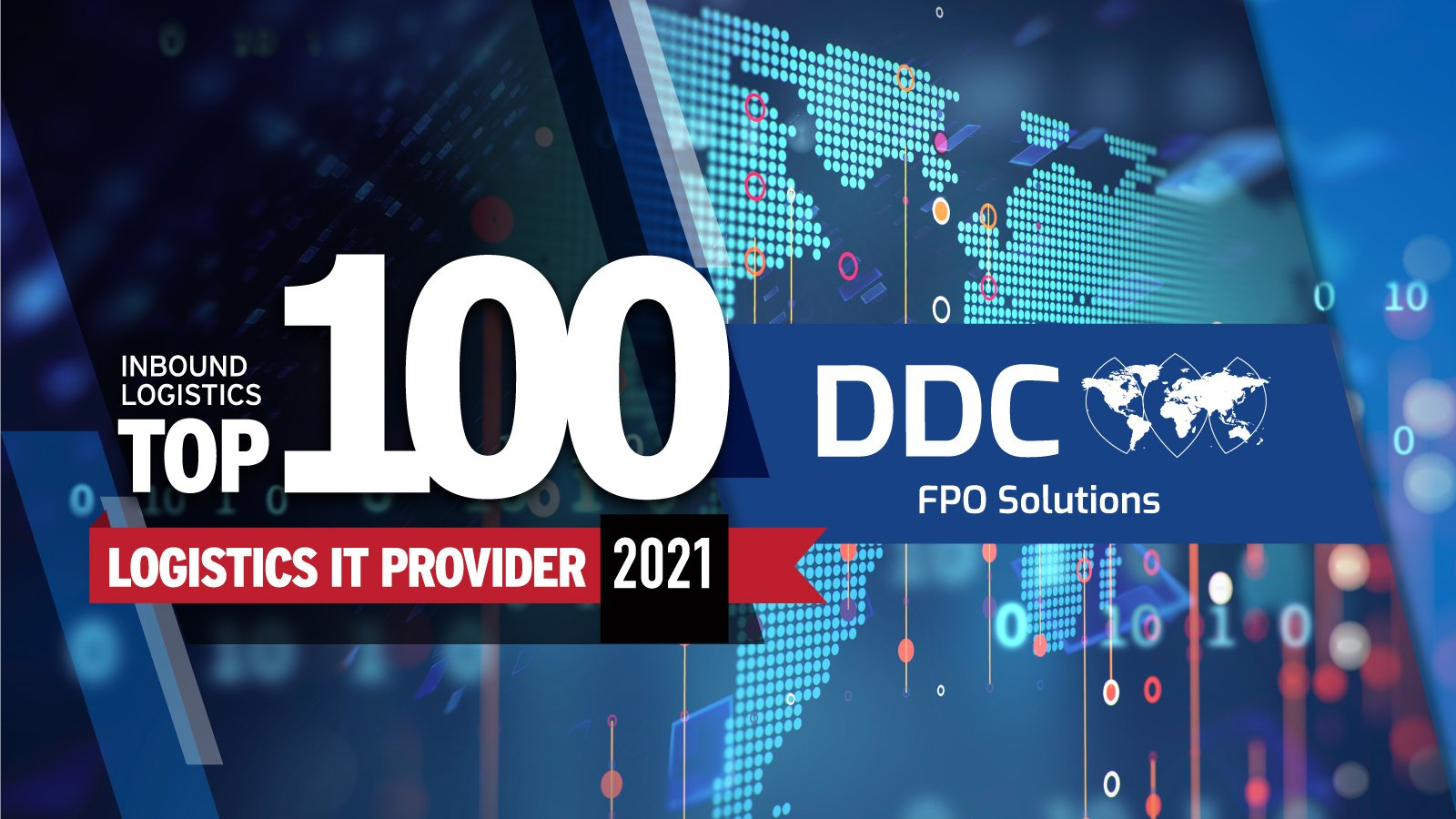DDC FPO Is Named to Inbound Logistics' Top 100 IT Providers for Transportation
