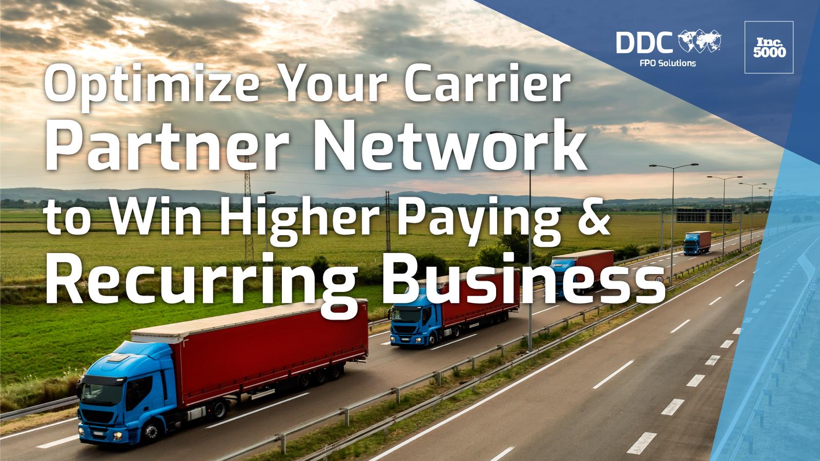Optimize-your-partner-network