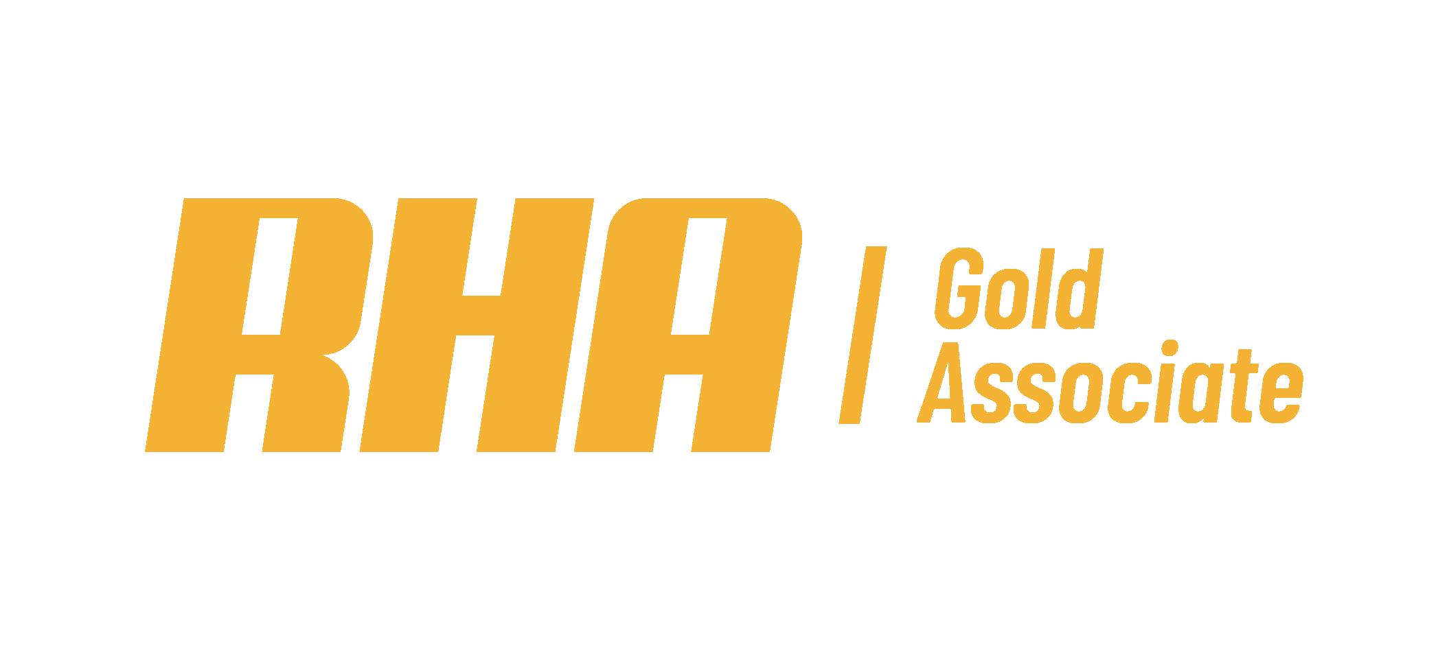 RHA Gold Associate Logo