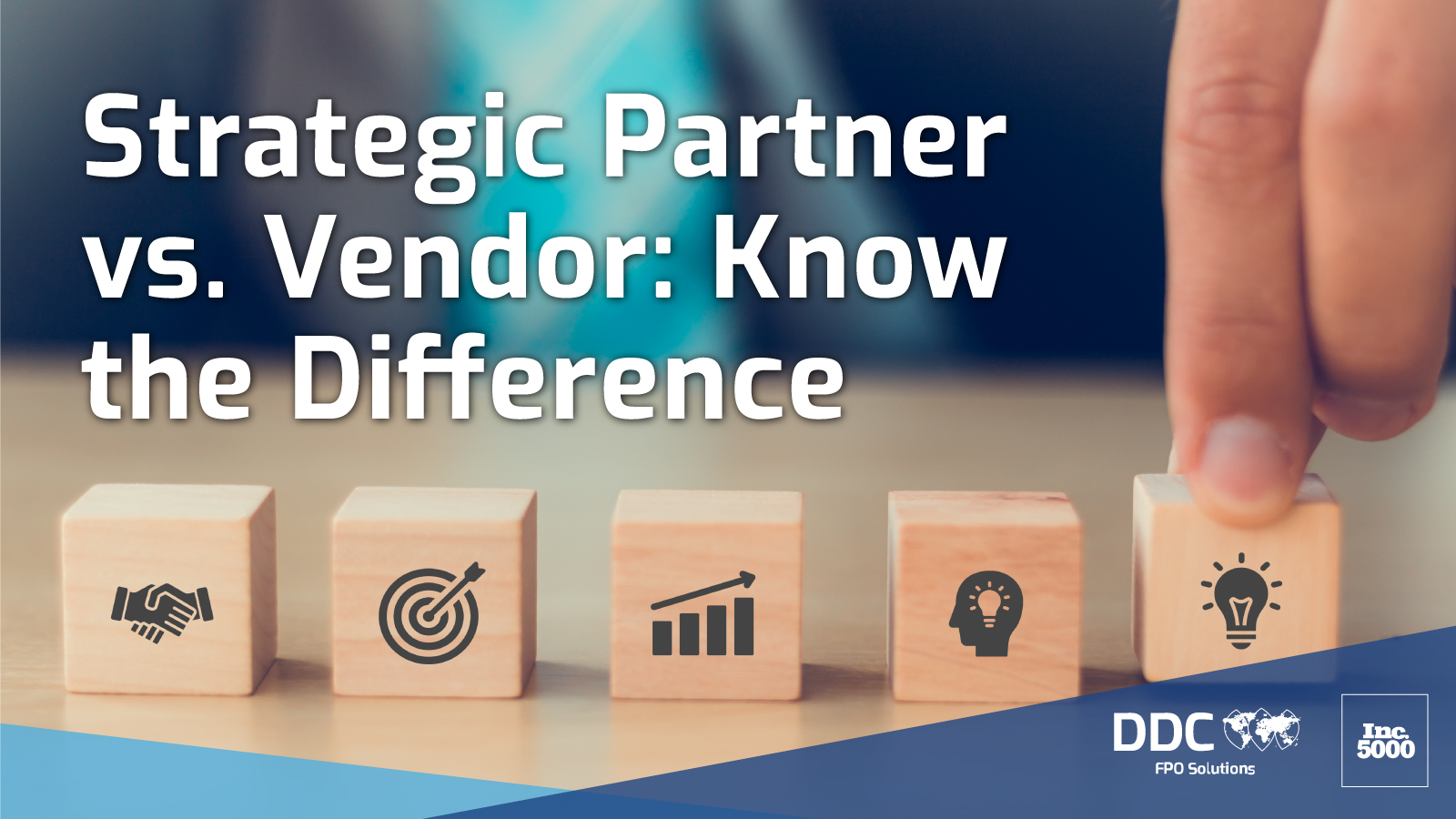 Strategic Partner vs. Vendor: Know the Difference